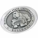 Mississippi State University Bulldogs Pewter Accent Paperweight
