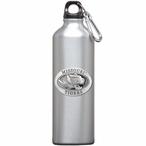 Missouri Tigers Pewter Accent Stainless Steel Water Bottle