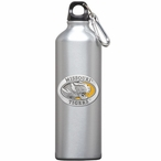 Missouri Tigers Yellow Pewter Accent Stainless Steel Water Bottle