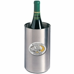 Missouri Tigers Yellow Pewter Stainless Steel Wine Bottle Chiller
