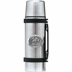 Navy Midshipmen Pewter Accent Stainless Steel Thermos