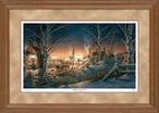 Night on the Town Limited Edition Oak Framed Art Print Wall Art