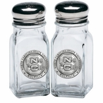 North Carolina State Wolfpack Pewter Accent Salt & Pepper Shakers