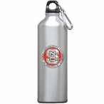 North Carolina State Wolfpack Red Pewter Stainless Steel Water Bottle