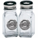 Ohio State Buckeyes Logo Pewter Accent Salt & Pepper Shakers