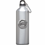 Ohio State Buckeyes Logo Pewter Accent Stainless Steel Water Bottle