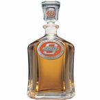 Oklahoma State Cowboys Orange Capitol Glass Decanter w/ Pewter Accents