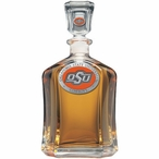 Oklahoma State Cowboys Orange Logo Capitol Glass Decanter with Pewter