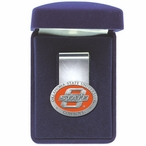 Oklahoma State Cowboys Orange Pewter Accent Steel Money Clip