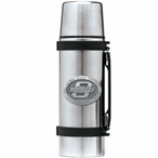 Oklahoma State Cowboys Pewter Accent Stainless Steel Thermos