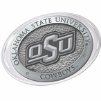 Oklahoma State University Cowboys Logo Pewter Accent Paperweight