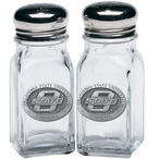 Oklahoma State University Cowboys Pewter Accent Salt & Pepper Shakers
