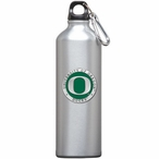 Oregon Ducks Green Pewter Accent Stainless Steel Water Bottle
