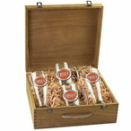 Oregon State University Beavers Orange Pewter Accent Beer Box Set