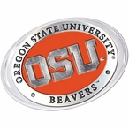 Oregon State University Beavers Orange Pewter Accent Paperweight