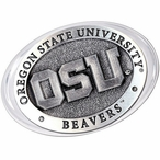 Oregon State University Beavers Pewter Accent Paperweight
