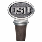 Oregon State University Beavers Pewter Wine Bottle Stopper