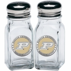Purdue Boilermakers Yellow Pewter Accent Salt & Pepper Shakers