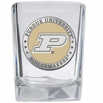 Purdue Boilermakers Yellow Pewter Accent Shot Glasses, Set of 4