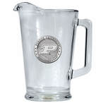 Purdue University Boilermakers Glass Pitcher with Pewter Accent