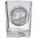 Purdue University Boilermakers Pewter Accent Shot Glasses, Set of 4
