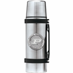 Purdue University Boilermakers Pewter Accent Stainless Steel Thermos