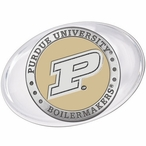 Purdue University Boilermakers Yellow Pewter Accent Paperweight