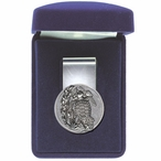 Sea Turtle Steel Money Clip with Pewter Accent