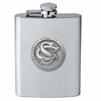 South Carolina Gamecocks Logo Stainless Steel Flask with Pewter Accent