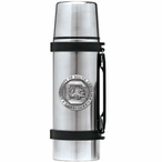 South Carolina Gamecocks Pewter Accent Stainless Steel Thermos