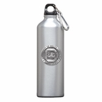 South Carolina Gamecocks Pewter Accent Stainless Steel Water Bottle