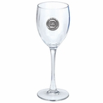 South Carolina Gamecocks Pewter Accent Wine Glass Goblets, Set of 2