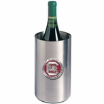 South Carolina Red Pewter Accent Stainless Steel Wine Bottle Chiller