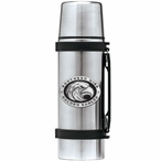 Southern Mississippi Black Pewter Accent Stainless Steel Thermos