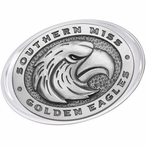 Southern Mississippi Golden Eagles Pewter Accent Paperweight