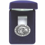 Southern Mississippi Golden Eagles Pewter Accent Steel Money Clip