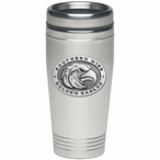 Southern Mississippi Golden Eagles Travel Mug with Pewter Accent