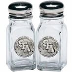 Stephen F Austin Lumberjacks Pewter Accent Salt & Pepper Shakers
