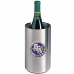 Stephen F Austin Purple Pewter Stainless Steel Wine Bottle Chiller