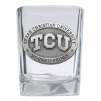 Texas Christian Horned Frogs Pewter Accent Shot Glasses, Set of 4