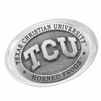 Texas Christian University Horned Frogs Pewter Accent Paperweight