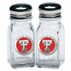 Texas Tech Red Raiders Red Pewter Accent Salt & Pepper Shakers