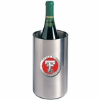 Texas Tech Red Raiders Red Pewter Stainless Steel Wine Bottle Chiller