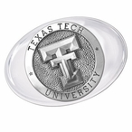 Texas Tech University Red Raiders Pewter Accent Paperweight