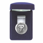 Texas Tech University Red Raiders Pewter Accent Steel Money Clip