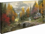 The Valley of Peace Wrapped Canvas Giclee Art Print Wall Art