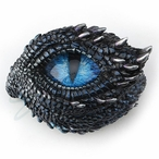 Throny Scale Dragon Eye Trinket Box