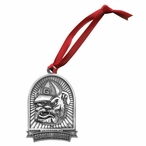 University of Georgia Bulldogs Dog Pewter Accent Ornaments, Set of 2