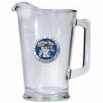 University of Kentucky Wildcats Blue Glass Pitcher with Pewter Accent