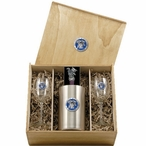 University of Kentucky Wildcats Blue Pewter Accent Wine Box Set